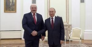 Лукашенко, Путин, встреча, переговоры, встретились, Москва, 22 апреля, Союзное государство, интеграция, сотрудничество, Украина, Зеленский, послание, экономика