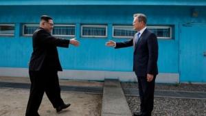 встреча, Ким Чен Ын, Мун Чжэ Ин, Пхеньян, Стул, Южная Корея, Северная Корея, КНДР