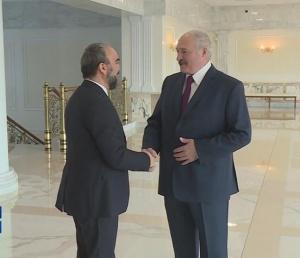 Лукашенко и турецкий журналист
