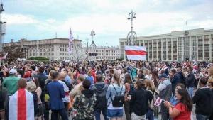 В Минске акция протеста у Дома правительства закончилась задержаниями