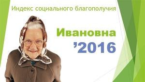 """Индекс социального благополучия """"Ивановна"""""""