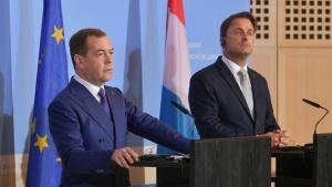 Медведев. Фото пресс-службы правительства РФ