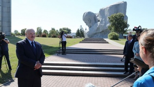 Лукашенко в Бресте. Фото пресс-службы президента