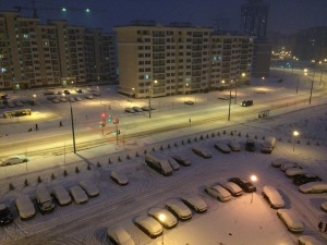 Минск ночью