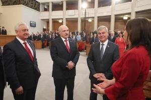 Лукашенко и Канопацкая