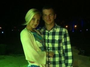 Андрей Щербаков с женой