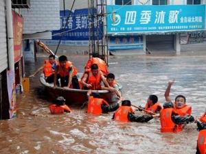Ливни в Китае