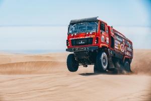 «Самый быстрый МАЗ» приехал первым на «Дакаре», но получил час штрафа