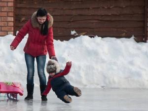 Гололед в Беларуси