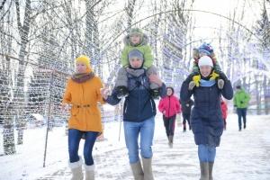 В Минске впервые прошел забег в валенках