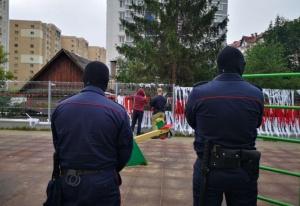 В Минских дворах начали «наводить порядок»