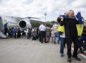 возвращение украинских пленных из России