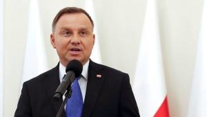 Анджей, Дуда, Польша, Беларусь, защитить, суверенитет, готовы, независимость, НАТО, пресс-конференция, демократия, белорусы, преследование, поляки, международны