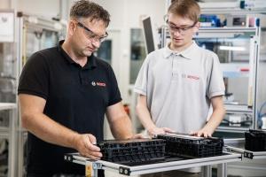 Bosch предлагает промышленное оборудование для производства аккумуляторных батарей