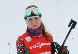 биатлонистка Татьяна Трифонова