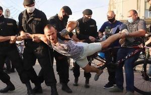 Выборы-2020: в Беларуси задержано более 700 человек с начала кампании