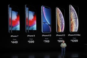 Apple, iPhone, презентация, iPhone Xs, iPhone Xs Max и iPhone Xr.