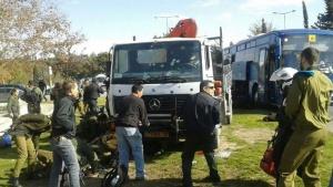 ИГИЛ, теракт в Иерусалиме, Иерусалим, теракт, грузовик, Нетаньяху, Ницца, Берлин, ЧП, терроризм