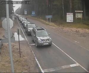 ГПК, ГТК, граница, очереди на границе, ноябрьские праздники, выходные, режим работы, очереди, выезда из Беларуси