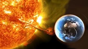 вспышка на Солнце