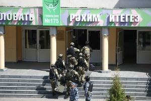 Стрельба в школе Казани: детей эвакуировали прямо из окон. Известно количество погибших