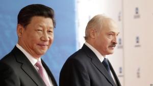 Лукашенко и председатель КНР Си Цзиньпинь