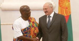 Лукашенко с послом