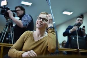 Марина Золотова в суде