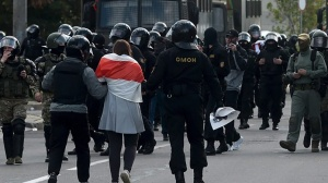 МВД: за участие в акциях протеста 20 сентября задержано 442 человека
