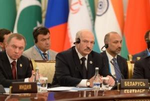 Лукашенко на заседании ШОС