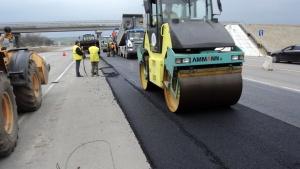 Строительство дороги в Украине