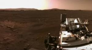 NASA опубликовало первые видео и звуки с Марса