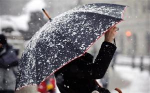 Мокрый снег и похолодание в Беларуси