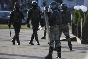 МВД предупредило протестующих, что будет применять боевое оружие