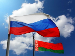 флаи Беларуси и России