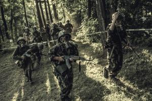 Боевой лагерь