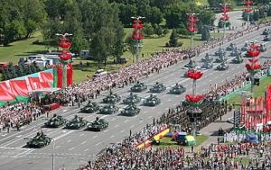Александр Лукашенко, доклад о подготовке парада, 3 июля, парад, День Независимости, Беларусь