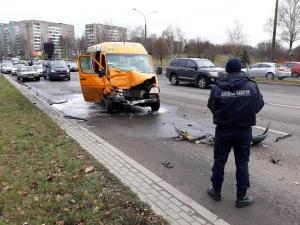 В Минске авария с участием автобуса и маршрутки, ГАИ Минска, СК
