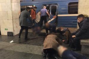 На двух станциях метро в Санкт-Петербурге прогремели два взрыва