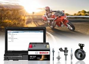Bosch, продукция длямотоциклов, скутеров и квадроциклов