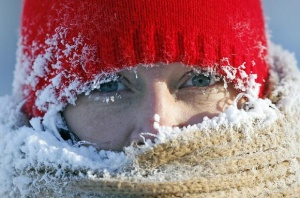 Сильный мороз идет в Беларусь