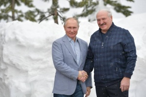 Встреча Лукашенко и Путина началась в Сочи