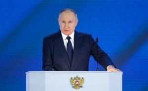 Путин в послании высказался по поводу «попытки переворота» в Беларуси