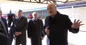 """Лукашенко в агрохолдинге """"Купаловском"""""""