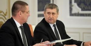 Михаил Русый и Леонид Заяц