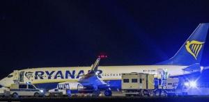 Самолет Ryanair экстренно сел в Берлине из-за угрозы взрыва