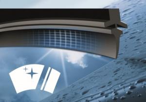 Стеклоочистители Bosch Aerotwin с улучшенным резиновым профилем