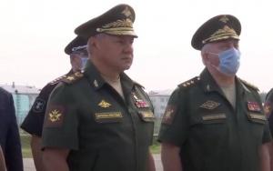 Министр обороны России Сергей Шойгу прибыл в Минск