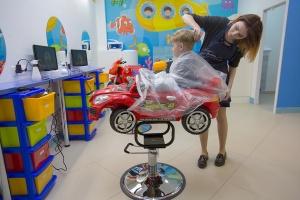 Минск, детская парикмахерская-аттракцион, Тивали,