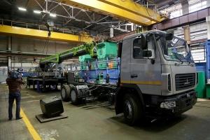 «Зумлион-МАЗ» собрал первый белорусско-китайский автокран
